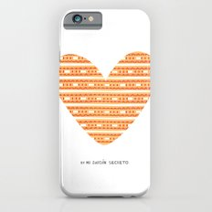 CORAZON (naranja) Slim Case iPhone 6s