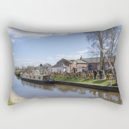 Fradley for lunch Rectangular Pillow