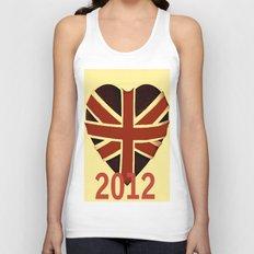 I Love Vintage 2012 Unisex Tank Top