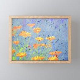 Calendula Paper Framed Mini Art Print