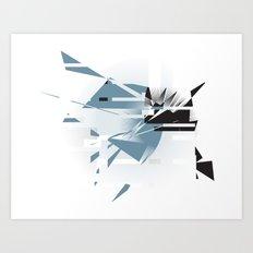 Badaboom! Art Print