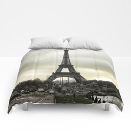 Le Tour Eiffel II - Paris Comforters