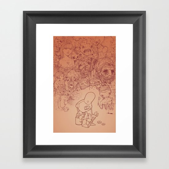 You can't fix everything Framed Art Print