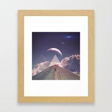 'Distant Star Run' Framed Art Print