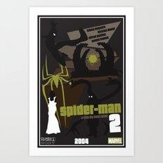 Spider-man 2 Poster Art Print