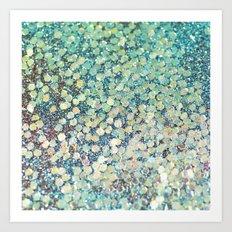 Mermaid Scales Art Print