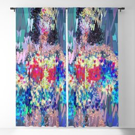 Superhero Type Art Comics WW Blackout Curtain