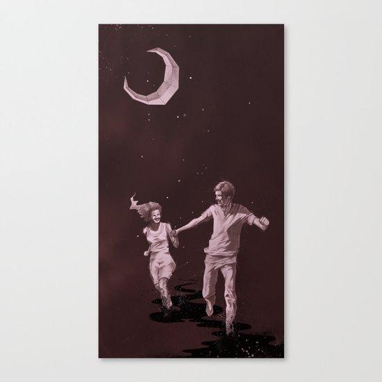 Moonlight Run Canvas Print