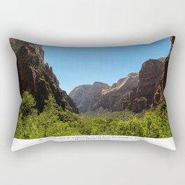 Tonic of Wilderness Rectangular Pillow