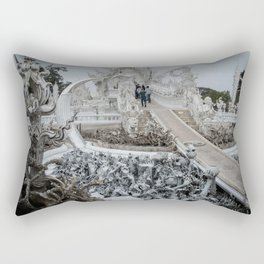 The White Temple - Thailand - 002 Rectangular Pillow