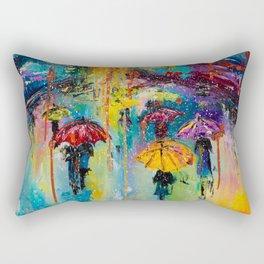 RAIN FALL DOWN Rectangular Pillow