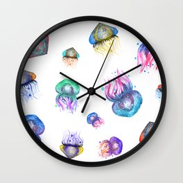 Galaxy Jellyfish Wall Clock