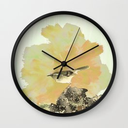 Oh !To be a bird! Wall Clock
