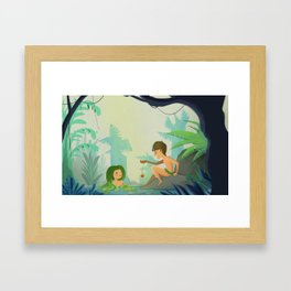 This Belong to My Mother Framed Art Print