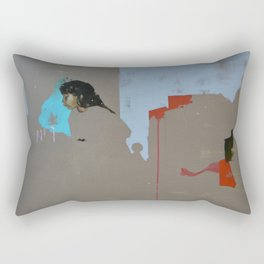 Chasing the Crown Rectangular Pillow