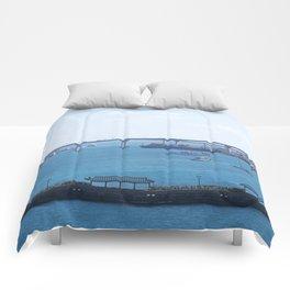 Bahamas Cruise Series 98 Comforters