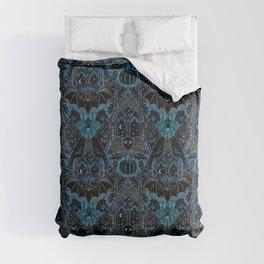 Gothic Halloween - Eerie Blue Comforters