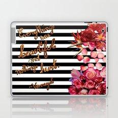 Everything Was Beautiful Laptop & iPad Skin