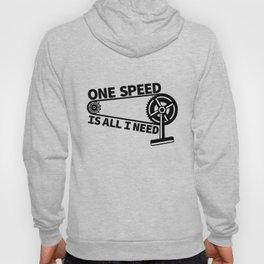 Single Speed Bike Hoody
