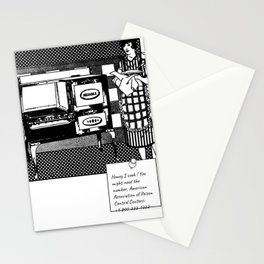 Sorry i cook Stationery Cards