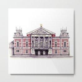 Royal Concert Hall Amsterdam Metal Print