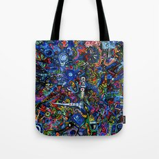 Village in the Sky Tote Bag