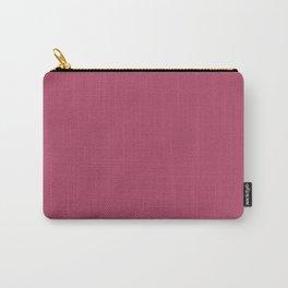 Dunn & Edwards 2019 Trending Colors Sangria (Pink) DE5041 Solid Color Carry-All Pouch