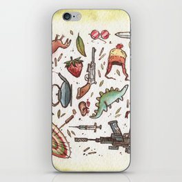 Collection of Shiny Objects iPhone Skin