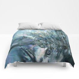 Sea Dog Abstract Comforters