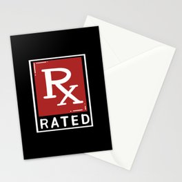 RX Rated For Pharmacy Technician Stationery Cards