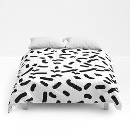 Memphis Candy B&W Comforters