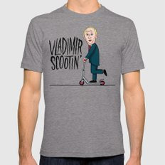 Vlad Scootin Tri-Grey Mens Fitted Tee X-LARGE