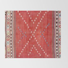 Fethiye Southwest Anatolian Camel Cover Print Throw Blanket