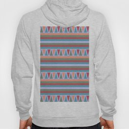 Stripes and Triangles African Pattern Hoody