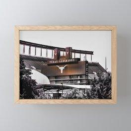 Texas Longhorns Framed Mini Art Print