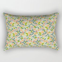 Happiest Flowers Rectangular Pillow