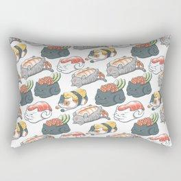 Sushi Cats Rectangular Pillow