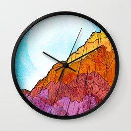 The Tall Cliff Wall Clock
