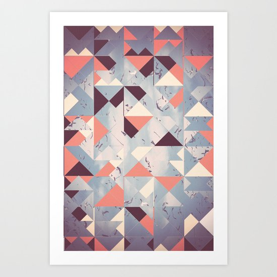 Abstract Sky Art Print
