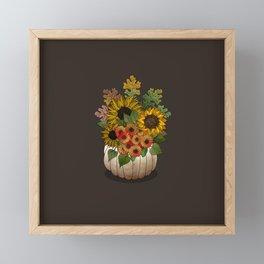 Autumn Bouquet Framed Mini Art Print