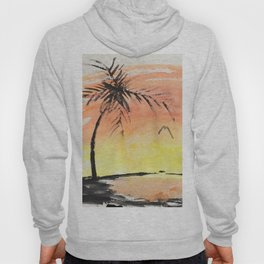 A Simple Sunset Hoody