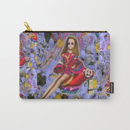 JOuRNeY into WONDERLAND, get WOWED by tHE wHImSiCal PEaCOck! Carry-All Pouch