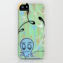 Demetri The Curious Octopi iPhone Case