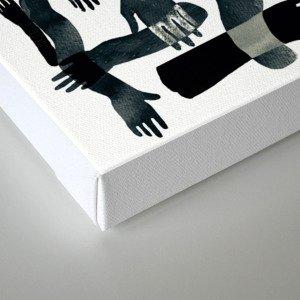 Dark Hands Canvas Print