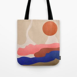 Find Me Where The Sunset #art print#illustration Tote Bag
