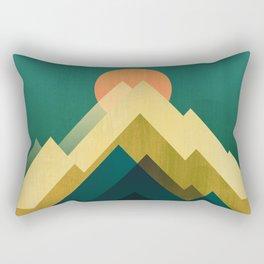 Gold Peak Rectangular Pillow