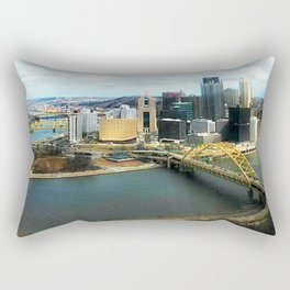 Pittsburgh From My View  Rectangular Pillow