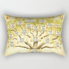 Family Tree Rectangular Pillow