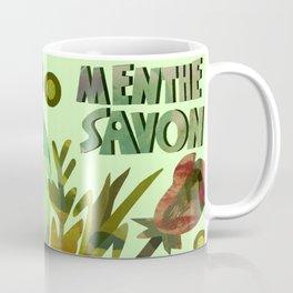 Menthe Savon Coffee Mug