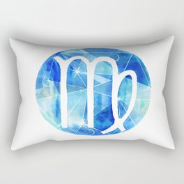 Virgin. Sign of the zodiac. Rectangular Pillow